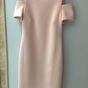 Calvin Klein Cold-Shoulder Dress